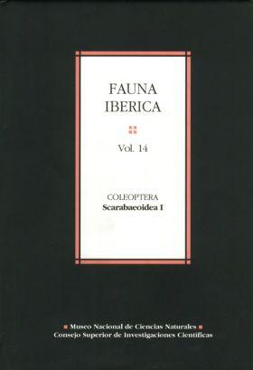 FAUNA IBÉRICA. VOL. 14. COLEOPTERA: SCARABAEOIDEA I