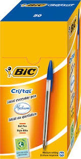 (50) BIC CRISTAL AZUL