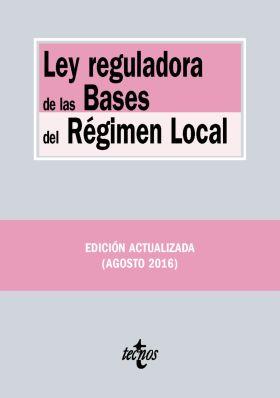 LEY REGULADORA DE LAS BASES DEL REGIMEN LOCAL