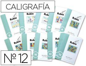 RUBIO - CUADERNO ESCRITURA 12