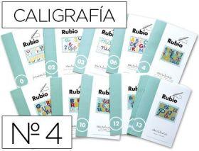 RUBIO - CUADERNO ESCRITURA 4