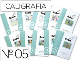 RUBIO - CUADERNO ESCRITURA 05