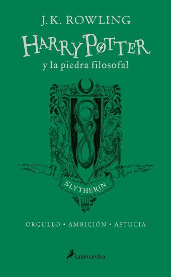 HARRY POTTER Y LA PIEDRA FILOSOFAL - VERDE