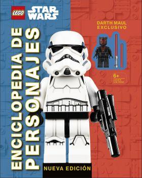 LEGO STAR WARS ENCICLOPEDIA DE PERSONAJES NUEVA E