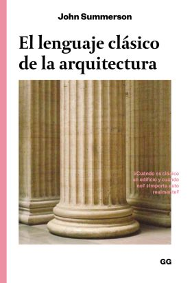 EL LENGUAJE CLASICO DE LA ARQUITECTURA