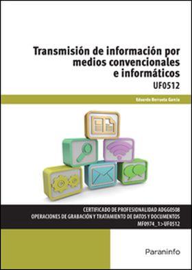 TRANSMISION DE INFORMACION POR MEDIOS CONVENCIONAL