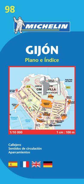 GIJON PLANO PLEGADO 19098