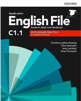 ENGLISH FILE C1 1 STUDENTS BOOK AND WORKBOOK WITH