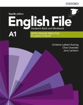 ENGLISH FILE A1 BEGINNER SB+WB W/KEY PK 4ED