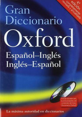 GRAN DICCIONARIO OXFORD ESP-ING/ING-ESP 4 ED