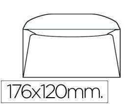 10 SOBRES LIDERPAPEL 120X176 MM