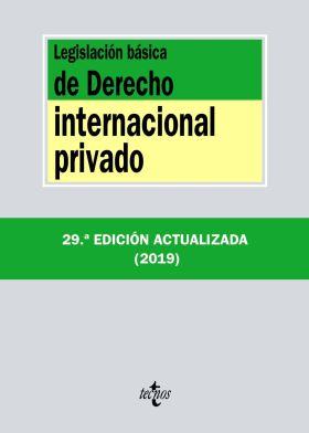LEGISLACION BASICA DE DERECHO INTERNACIONAL PRIVAD