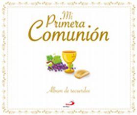 MI PRIMERA COMUNION. ALBUM DE RECUERDO