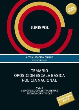 TEMARIO OPOSICION ESCALA BASICA POLICIA NACIONAL