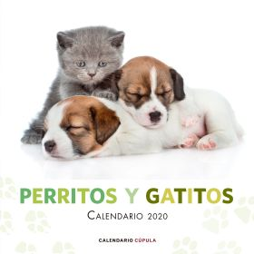 CALENARIO PERRITOS Y GATITOS 2020 CUPULA