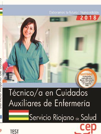 TEST TÉCNICO/A EN CUIDADOS AUXILIARES DE ENFERMERÍA. SERIS