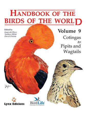 HANDBOOK OF THE BIRDS OF THE WORLD 9
