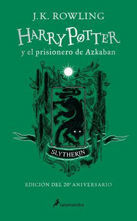 HARRY POTTER Y EL PRISIONERO DE AZKABAN SLYTHERIN