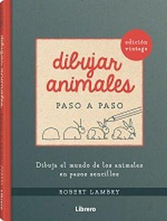 DIBUJAR ANIMALES VINTAGE