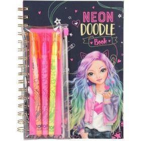 TOP MODEL DOODLE BOOK NEON