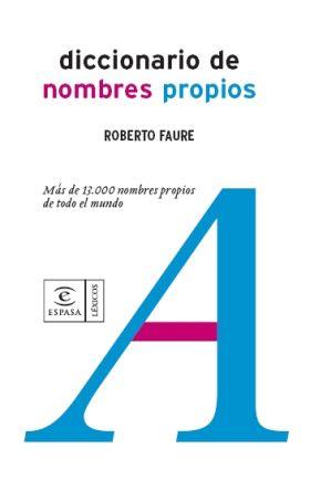 DICCIONARIO DE NOMBRES PROPIOS
