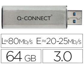 MEMORIA USB 64 GB 3.0 FLASH DRIVE Q.CONNECT C. SUR - Q-CONNECT
