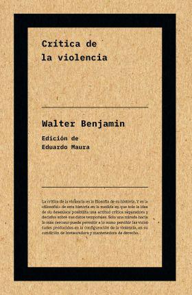 CRITICA DE LA VIOLENCIA