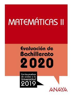 SELECTIVIDAD MATEMATICAS II 2020