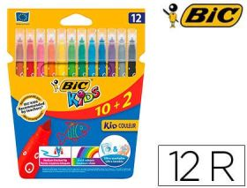 10+2 ROTULADORES KID COULEUR BIC