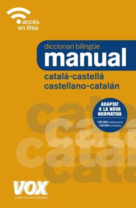 DICCIONARI MANUAL CATALA-CASTELLA / CASTELLANO-CAT
