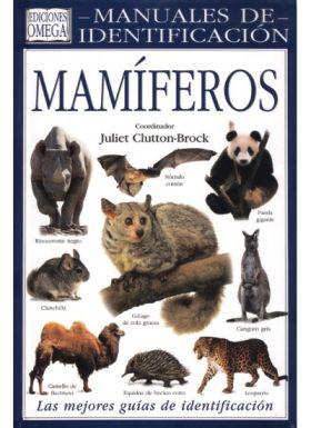 MAMIFEROS. MANUAL DE IDENTIFICACION