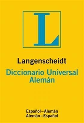 DICCIONARIO UNIVERSAL ALEMAN/ESPAÑOL