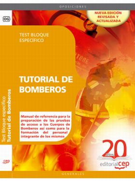 TUTORIAL DE BOMBEROS. TEST BLOQUE ESPECIFICO