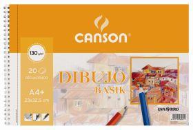 BLOCK 230 X325 BASIK RECUADRO 130 GRAMOS GUARRO - CANSON