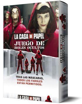 LA CASA DE PAPEL. JUEGO DE ROLES OCULTOS