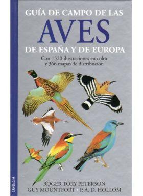 GUIA DE CAMPO DE LAS AVES DE ESPAÑA Y DE EUROPA