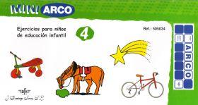 EDUCACION INFANTIL. CUADERNO DE EJERCICIOS 4 REF.5